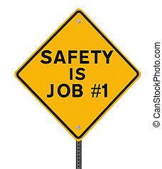 Sicherheit ist Job nein. 1