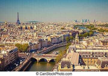 Sicht auf Paris