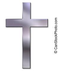 Silberkreuz.