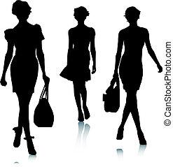 Silhouette Modefrau