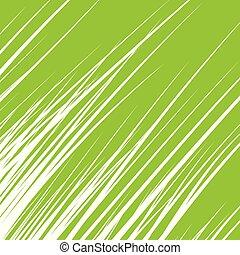 Silhouette von Gras isoliert auf grünem Hintergrund. Vector Illustration.