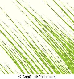 Silhouette von Gras isoliert auf weißem Hintergrund. Vector Illustration.