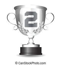 Silver Cup für den zweiten Platz