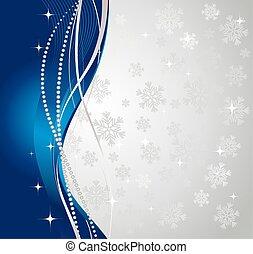Silver winter abstrakter Hintergrund.