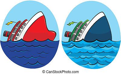 Sinkingschiff.