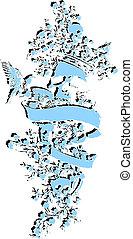 Skull-Foral-Emblem