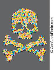 Skull machte durchschnittlich 200B pro Pille