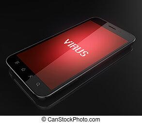 Smartphone infiziert.