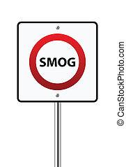 Smog-Schild.