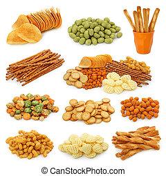 Snack-Sammlung