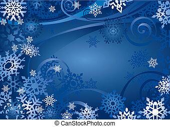 Snowflakes Design (Vektor)