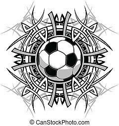 Soccer Stammesgrafik