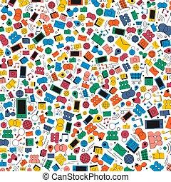 Social Media Internet Icon Hintergrundbild