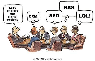Social Media Optionen.