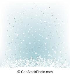 Soft light blue snow mesh background