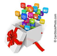 Software und Multimedia-Konzept