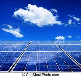 Solare Energietafel.