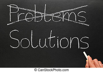solutions., probleme