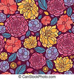 Sommerblumen ohne Muster