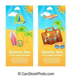 Sommerferien Banner.