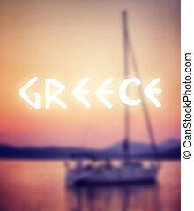 Sommerferien in Griechenland.