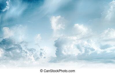 sonnenaufgang, wolkenhimmel, hintergrund, himmelsgewölbe, kunst