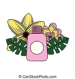 Sonnenblock-Blumensommer.