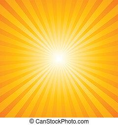 Sonnenbrandmuster