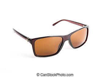 Sonnenbrille isoliert auf dem Weißen.