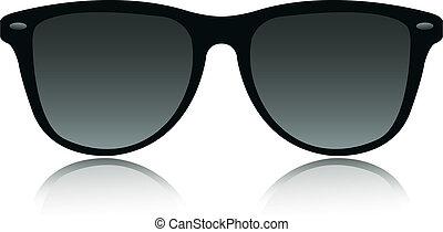sonnenbrille, vektor