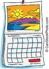 Sonnenkalender.