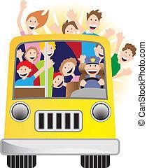 Sonnenschein-Bus