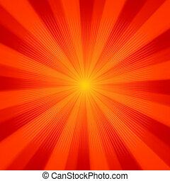 Sonnenstrahlen. EPS 8