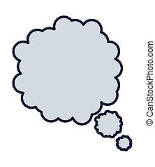 sozial, medien, wolke