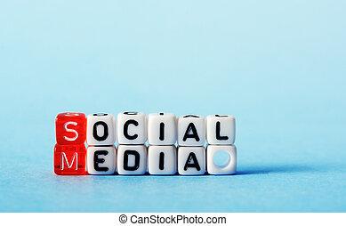 Soziale Medien.
