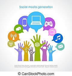 Soziale Mediengeneration