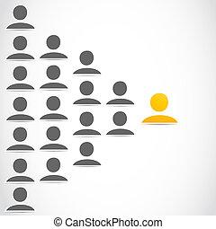 Soziale Netzwerk-Leute-Gruppe.