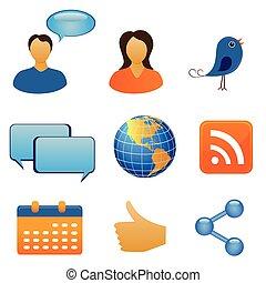 Soziales Netzwerk und Kommunikation