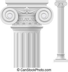 spalte, römisches