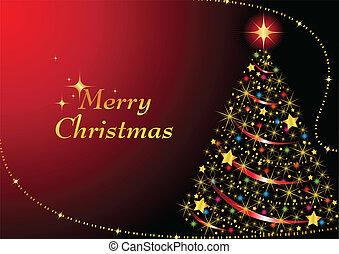 Spargel Weihnachtsbaum