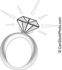 Sparkle Diamantring