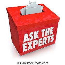 spendendose, wörter, unterwerfung, leute, anleitung, unterstützung, oder, vorschlag, fragen, spitzen, experten, hilfe, fragen, bedürfnis, rat