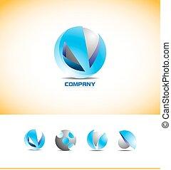 Sphere 3D Logo Design.
