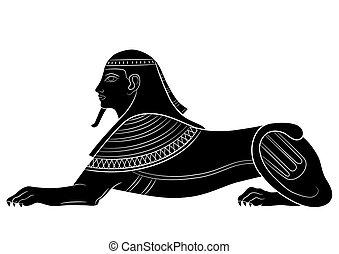 Sphinx - mythische Kreatur