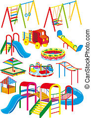 Spielplatz-Set