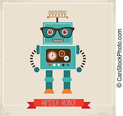 spielzeug, hüfthose, roboter, ikone