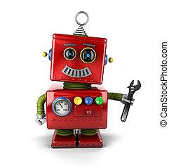 Spielzeug-Mechaniker-Roboter
