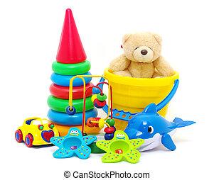 Spielzeugsammlung
