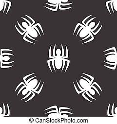 Spinnenmuster.