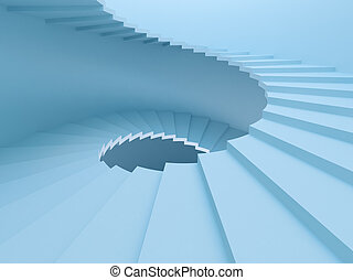 Spirale Treppe